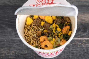 カップ入り麺類の値上げは食後の洗い物を増やす